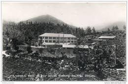 Ceylon (Sri Lanka) - General View Of The Tea Estate Showing Factory - Sri Lanka (Ceylon)