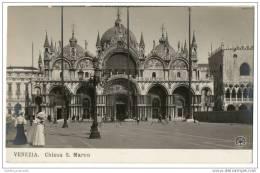 Italy- Venezia - Chiesa S. Marco (1900) - Venezia (Venice)