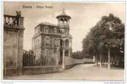 Faenza - Villino  (Vincenzo)  Pritelli - Faenza