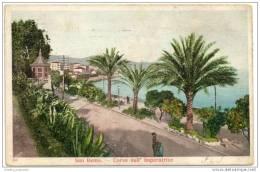 San Remo - Corso Dell Imperatrice (1904) - San Remo