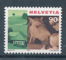 Suisse N°1687** Série Courante Enfant Et Cheval - Suisse