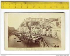 Kl 2752 ( 2  Scans ) Originale Photo - ITALIA Napoli Santa Lucia Dal Hotel De Rome - Napoli
