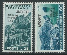 1954 TRIESTE A FIERA DI TRIESTE MNH ** - P16-9 - Mint/hinged