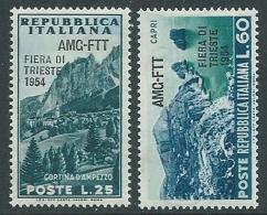 1954 TRIESTE A FIERA DI TRIESTE MNH ** - P22-8 - Mint/hinged