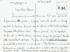 CARTE De FRANCHISE MILITAIRE 31 Mars 1956 - Taghit (territoire Du Sud) Vue Du Bordj - Guerra De Argelia