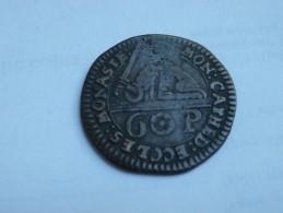 ALLEMAGNE MUNSTER 6 PFENNING  1762    Chapitre De La Cathedrale     KM 440 CUIVRE - Piccole Monete & Altre Suddivisioni