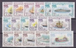 The Grenadines Of St. Vincent 1982 Definitives / Ships 17v ** Mnh (32054) - St.-Vincent En De Grenadines
