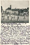 LWÓW, LEMBERG, Plac Halicki, Haliczerplatz(1899), 2 Scans - Ukraine