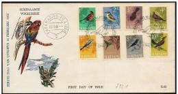 Suriname/Surinam: FDC, Uccelli Diversi, Different Birds, Différents Oiseaux - Vögel