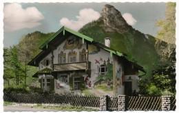 CPSM - OBERAMMERGAU (Bavière) - Rotkäppchen Haus Und Kofel - Oberammergau