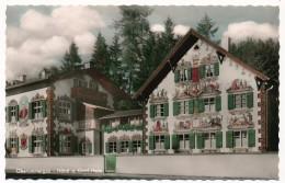 CPSM - OBERAMMERGAU (Bavière) - Passionspieldorf - Häns U. Gretl Heim - Oberammergau