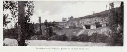 1902 - Phototypie - Bonnes (Vienne) - Les Carrières Sur La Vienne - FRANCO DE PORT - Vieux Papiers