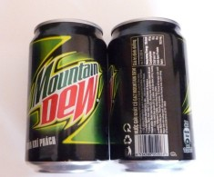 Vietnam Viet Nam Mountain Dew 330ml Can / Opened At Bottom - Cannettes