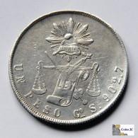 México - Guanajuato - 1 Peso - 1872 - Mexiko