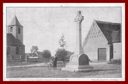 Fontenoy - La Croix Des Irlandais Inauguré Le 25 Aout 1907    ( Scan Recto Et Verso ) - Antoing