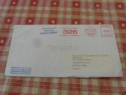 München Germany K G Saur Verlag KG Pecs Drucksache Hungary Kuvert Envelope - Germany