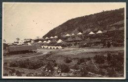 India British Army Rest Camp Dunera RP Postcard - India