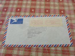 Pretoria South Africa Air Mail Luftpost Par Avion Budapest Hungary Kuvert Envelope - Afrique Du Sud (1961-...)