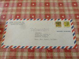 John Toth Fur Inc. Montreal Canada Air Mail Luftpost Par Avion Budapest Hungary Kuvert Envelope - Canada