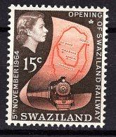 Swaziland, 1964, SG 111, Mint Hinged - Swaziland (...-1967)