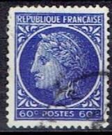 FRANCE #    FROM  1944  STAMPWORLD 670 - 1945-47 Ceres De Mazelin