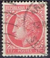 FRANCE #    FROM  1944  STAMPWORLD 673 - 1945-47 Ceres De Mazelin