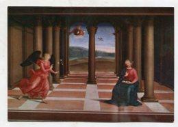 CHRISTIANITY  - AK280579 Roma - Citta' Del Vaticano - Pinacoteca - Raffaello : L'Annonciation - Virgen Mary & Madonnas