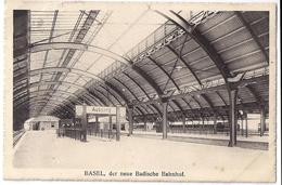 BASEL: Der Neue Badische Bahnhof, Eisenbahn ~1910 - BS Bâle-Ville