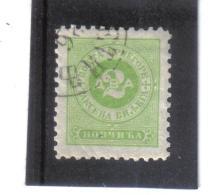 GUT1133 MONTENEGRO 1894 Michl 2 B  PORTO Used Gestempelt SIEHE ABBILDUNG - Montenegro