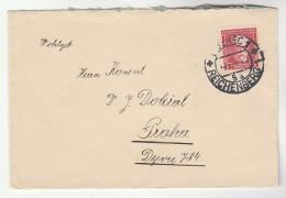 CZECHOSLOVAKIA COVER Stamps 1k - Czechoslovakia