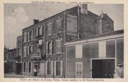 CPA 51 Vitry Le Francois - Hotel De L'étoile - Vitry-le-François