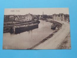 De Vaart - Le Canal ( Huis Demersseman ) Anno 19?? ( Zie Foto Voor Details ) !! - Veurne