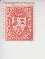 Denemarken Fiskale Zegel Cataloog Barefoot: Spillekort(speelkaarten) 2 - Fiscaux