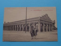 La Gare Maritime ( 92 Lucien Pollet Lille ) Anno 19?? ( Zie Foto Voor Details ) !! - Dunkerque