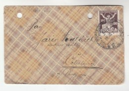 1922 CZECHOSLOVAKIA COVER Stamps 100h - Covers & Documents