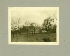 PHOTO.  12 X 9.   VELDWEZELT.  L'ECOLE  EN  1943. - Lanaken