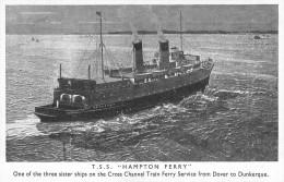 "Cp A "" Hampton Ferry "" Dunkerque Southern Railway - Piroscafi"