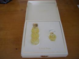 Coffret Nina Ricci L'Air Du Temps Fête Des Mères 1993 EDP 3.5ml + 3 Coeurs EDT 10ml - Miniature Bottles (in Box)