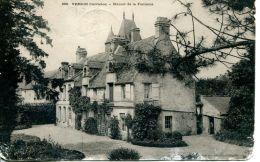 N°369 F -cpa Manoir De La Fontaine à Verson - Francia