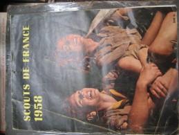Calendrier Scouts De France 1958 - Calendriers