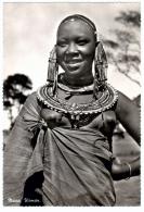 Masai Woman (Colonie Du Kenya, British Kenya, Kenia) - Afrique Du Sud, Est, Ouest