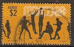 MEXIQUE   -    Aéro .  1968 .  J. O.  Oblitéré - Messico
