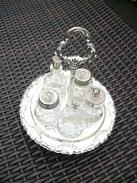 Tischkabinett  Öl, Essig, Senf, Salz Und Pfeffer  (176) - Glas & Kristall
