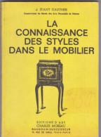 La Connaissance Des Styles Dans Le Mobilier Par Gauthier 1996  282 Pages - Non Classés