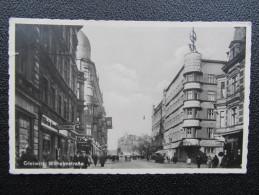 AK GLEIWITZ Wilhelmstrasse 1940 // D*21109 - Schlesien
