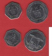 Madagascar  / Lot De 2 Monnaies - Madagascar