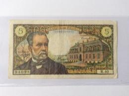 5 Francs Pasteur 4.11.1966 TB - 1962-1997 ''Francs''