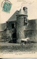 N°385 F -cpa Ussy -entrée De La Ferme Du Pot- - Fermes