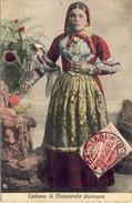 Costume Di Monserrato (Sardegna), 2 Scans - Sassari
