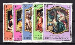 Trinidad & Tobago, 1970, SG 386 - 390, Complete Set Of 5, MNH - Trinidad En Tobago (1962-...)